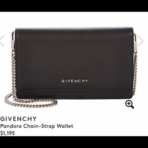 Givenchy wallet cross body